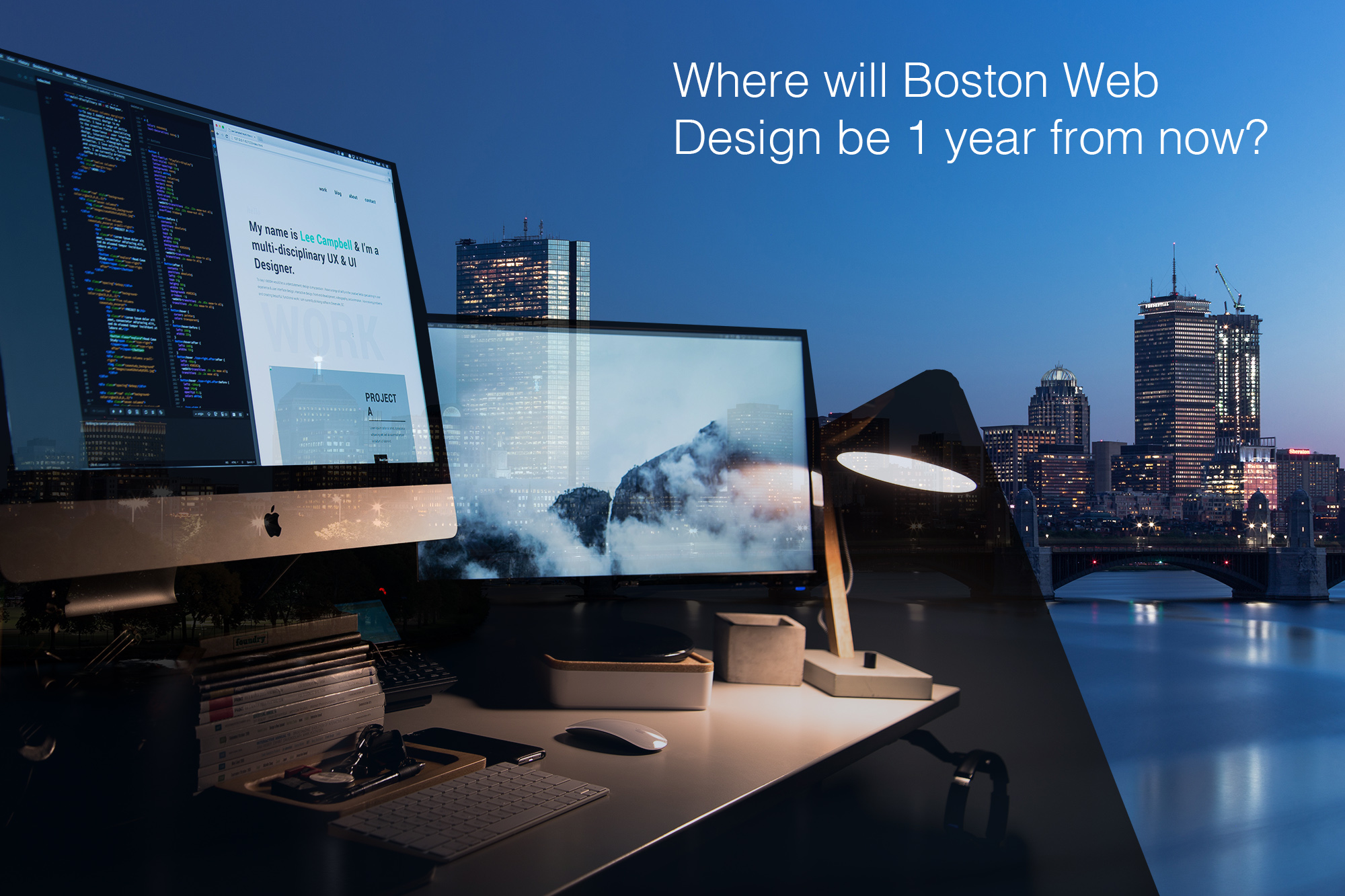 web design - where will boston web design be 1 year from now